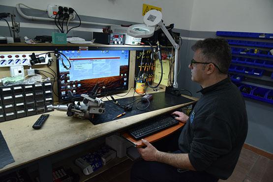 Progetto Auto fotoOfficina meccanica